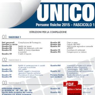 Unico Persone Fisiche 2015 Editabile